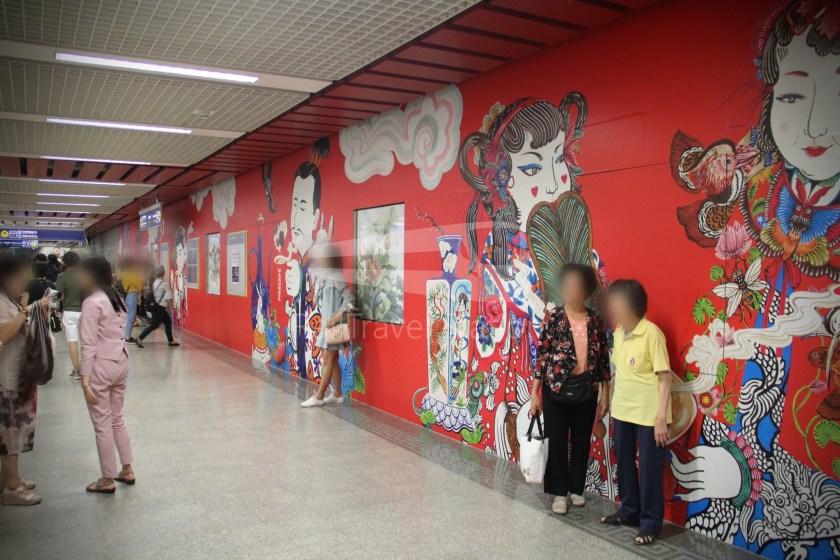 MRT Blue Line Hua Lamphong Tha Phra Extension 035
