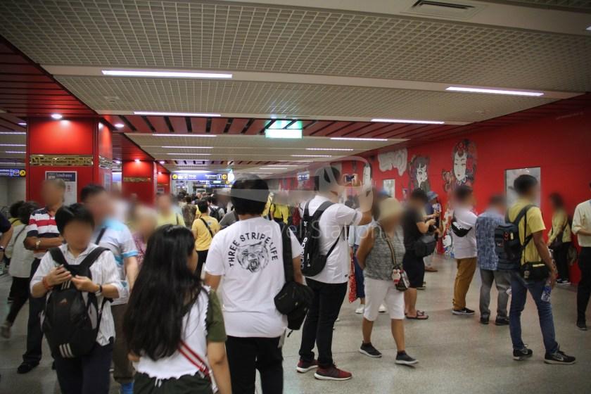 MRT Blue Line Hua Lamphong Tha Phra Extension 036