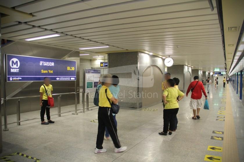 MRT Blue Line Hua Lamphong Tha Phra Extension 046