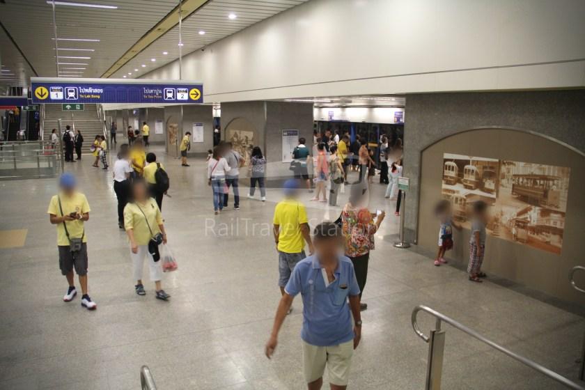 MRT Blue Line Hua Lamphong Tha Phra Extension 047