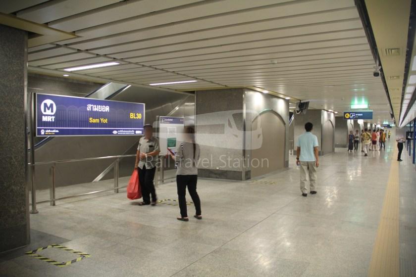 MRT Blue Line Hua Lamphong Tha Phra Extension 052