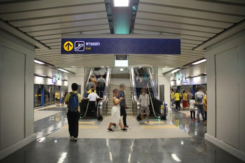 MRT Blue Line Hua Lamphong Tha Phra Extension 056