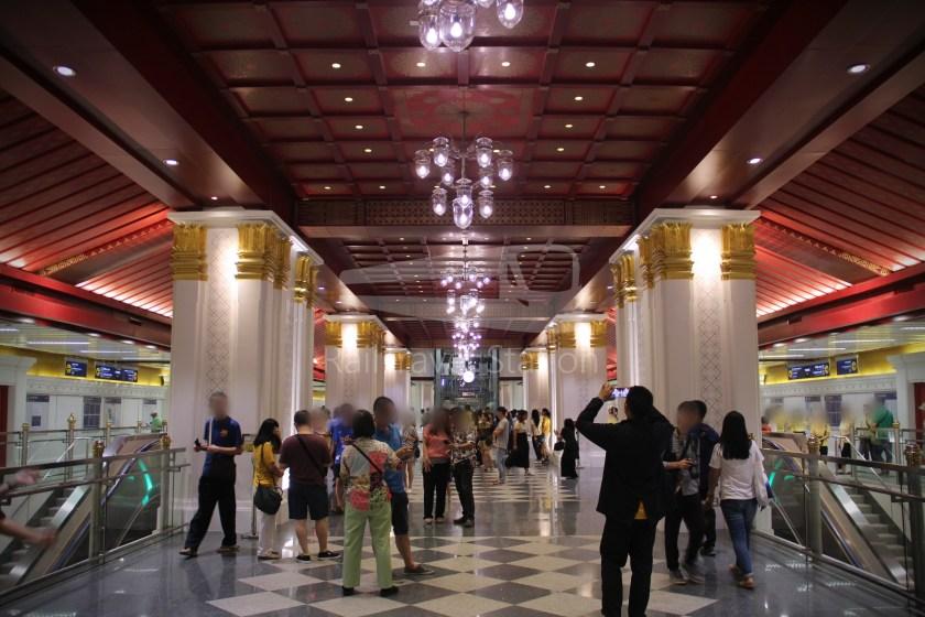MRT Blue Line Hua Lamphong Tha Phra Extension 061