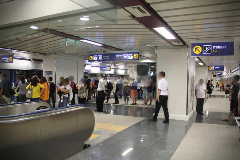 MRT Blue Line Hua Lamphong Tha Phra Extension 063