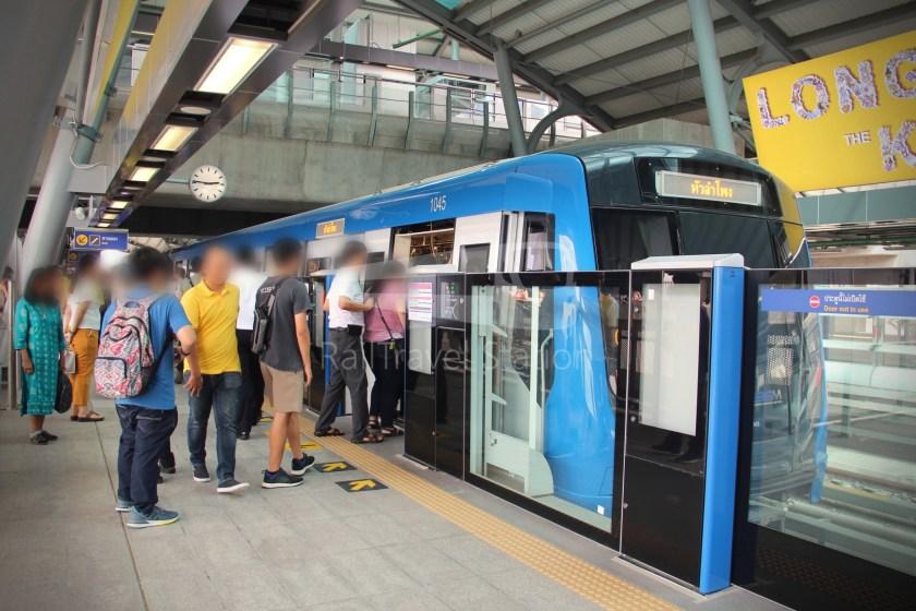 MRT Blue Line Hua Lamphong Tha Phra Extension 083