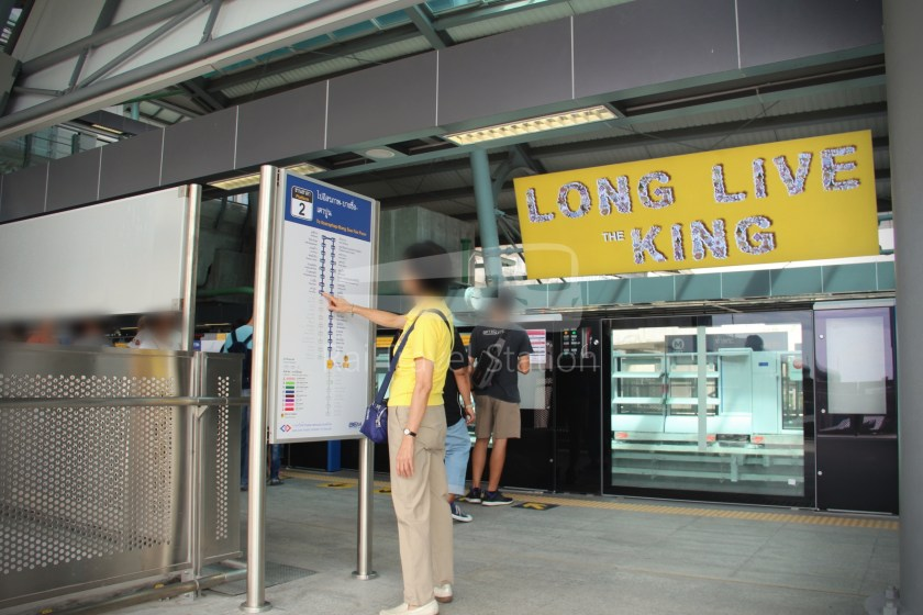 MRT Blue Line Hua Lamphong Tha Phra Extension 084
