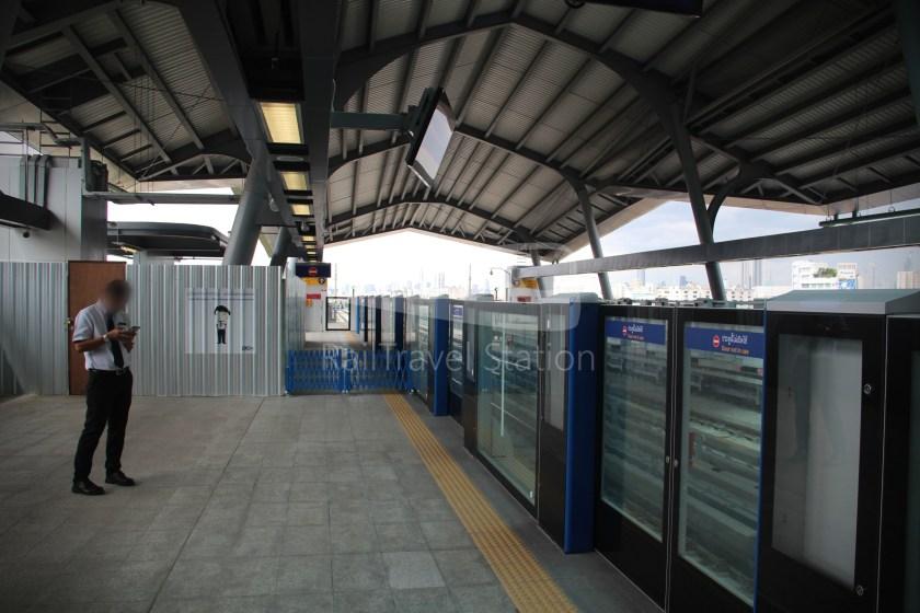 MRT Blue Line Hua Lamphong Tha Phra Extension 094