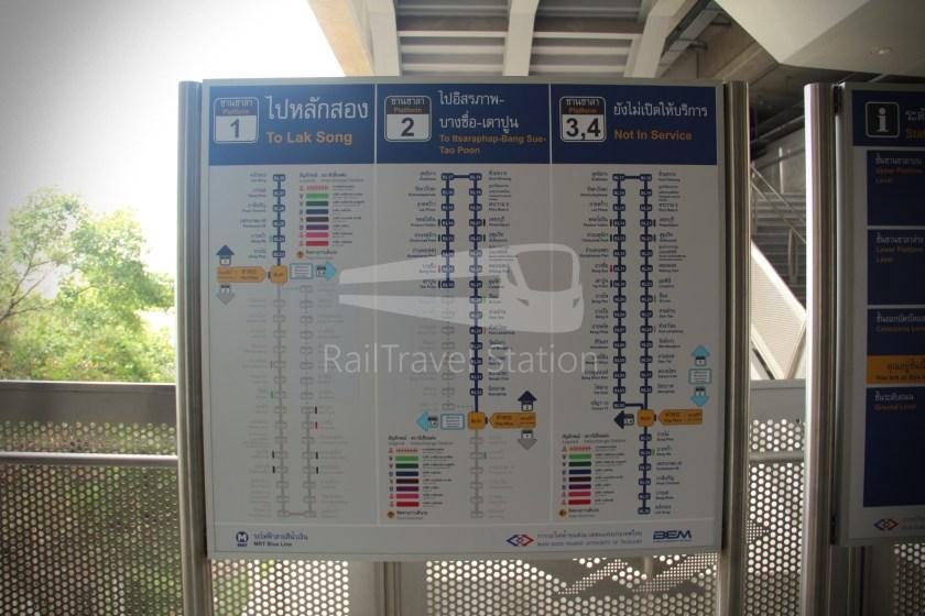 MRT Blue Line Hua Lamphong Tha Phra Extension 097