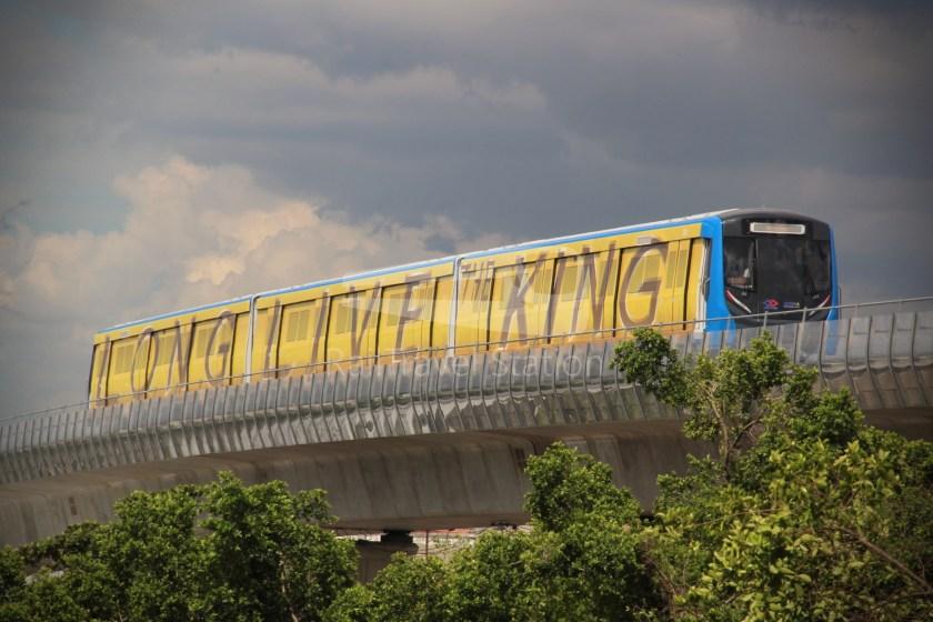 MRT Blue Line Hua Lamphong Tha Phra Extension 102