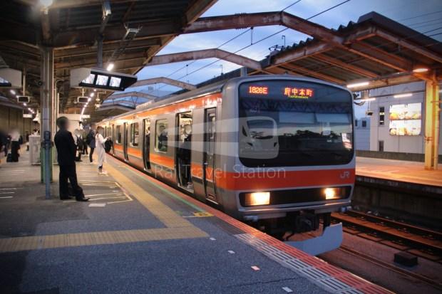 Musashino Line 205 Nishi-Funabashi Tokyo 003
