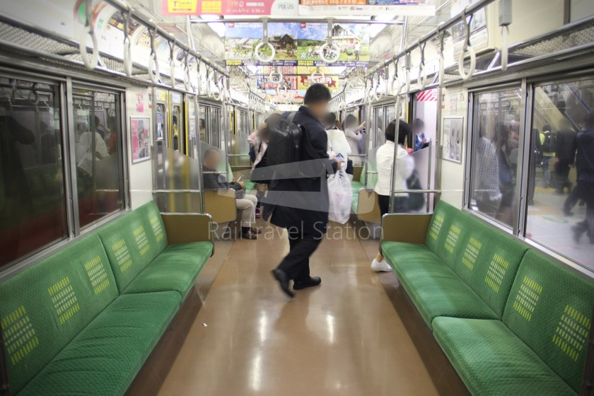 Musashino Line 205 Nishi-Funabashi Tokyo 022