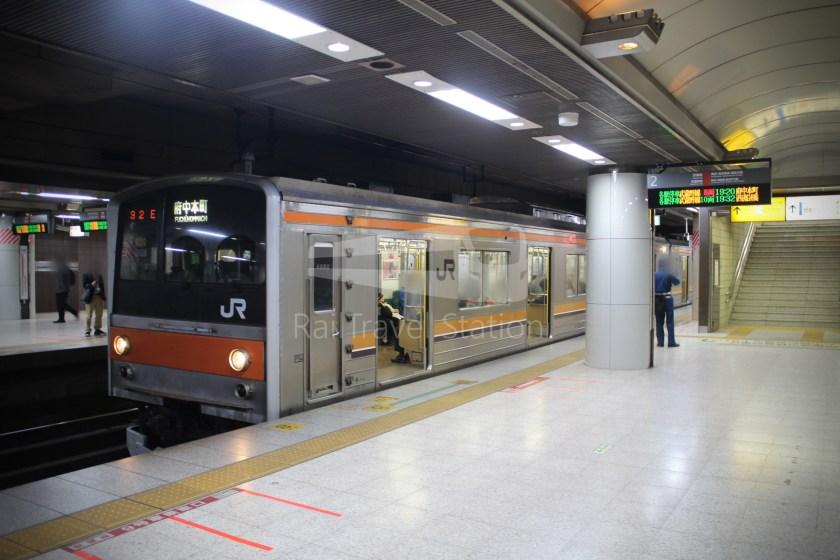 Musashino Line 205 Nishi-Funabashi Tokyo 032