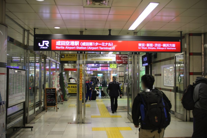 Narita Express 30 Narita Airport Terminal 1 Shinjuku 010