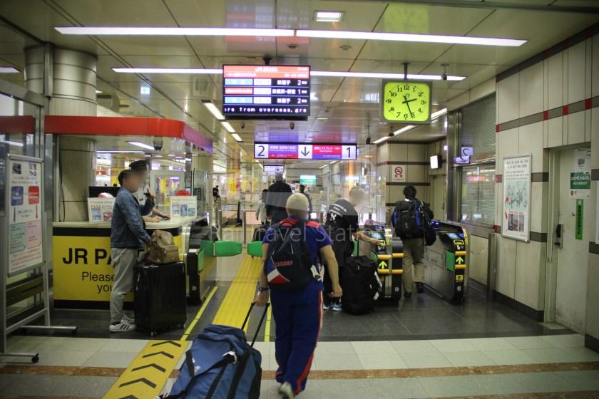Narita Express 30 Narita Airport Terminal 1 Shinjuku 011