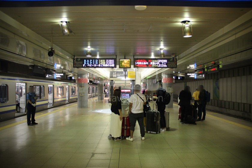 Narita Express 30 Narita Airport Terminal 1 Shinjuku 014