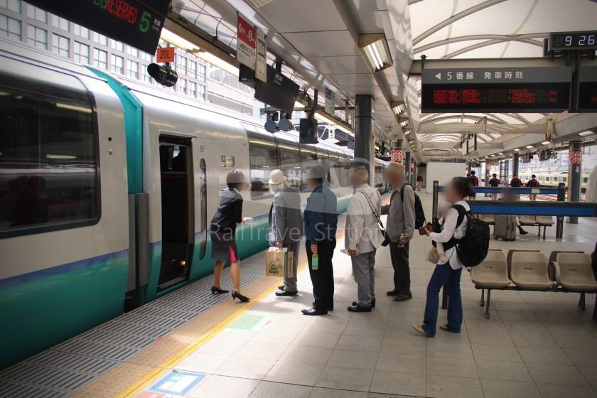 Super View Odoriko 3 Shinjuku Izukyu-Shimoda 023