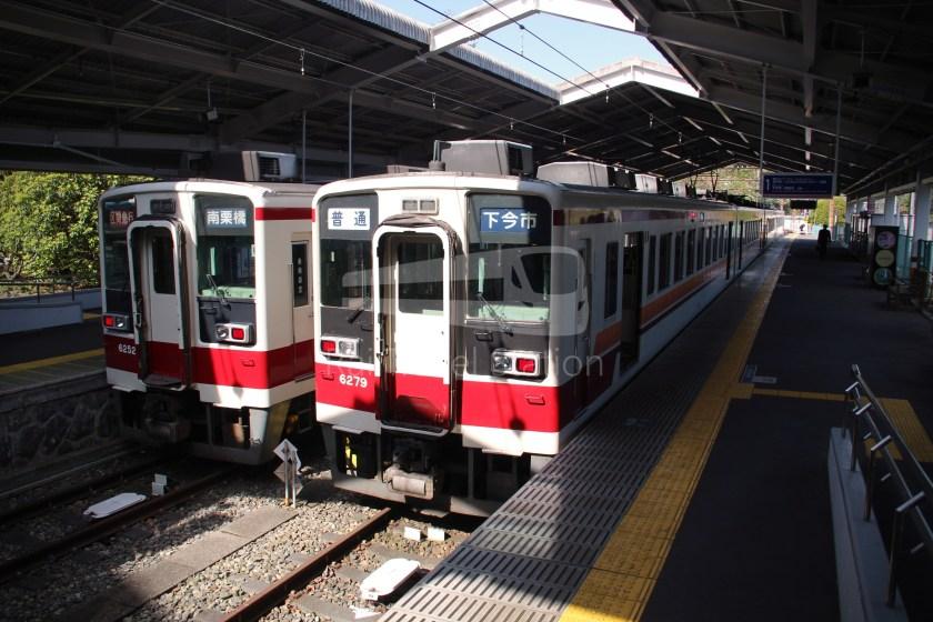 Tobu Nikko Line Local Shimo-Imaichi Tobu-Nikko 037