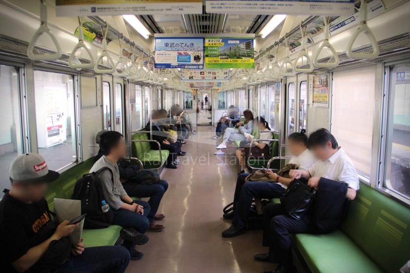 Tobu Skytree Line Local Higashi-Mukojima Asakusa 015