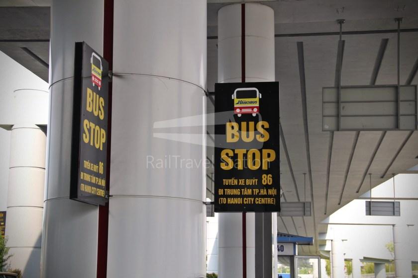 Hanoibus Airport Bus 86 Noi Bai International Airport Hanoi Railway Station 03