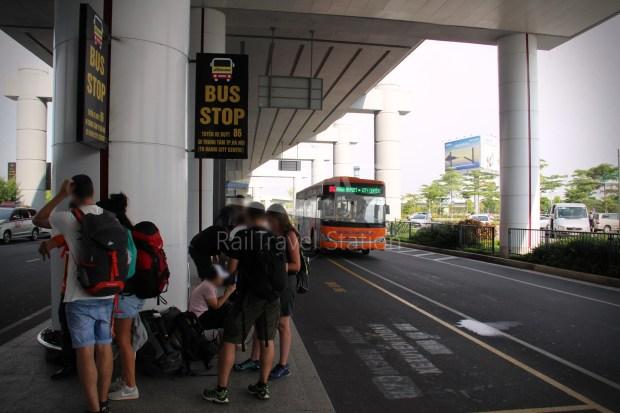 Hanoibus Airport Bus 86 Noi Bai International Airport Hanoi Railway Station 04