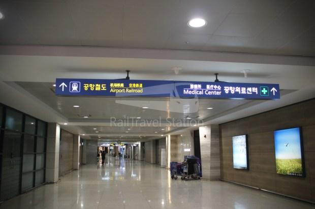 AREX Express Train Incheon International Airport Terminal 1 Seoul Station 002