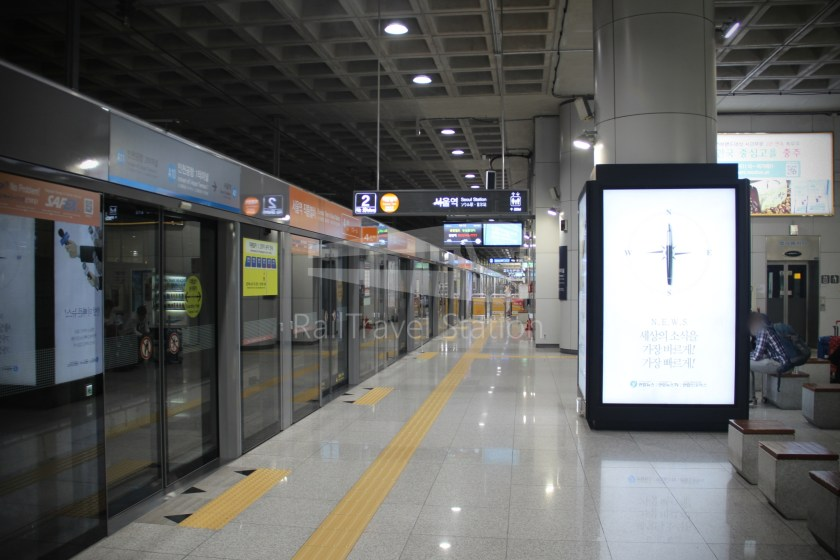AREX Express Train Incheon International Airport Terminal 1 Seoul Station 023