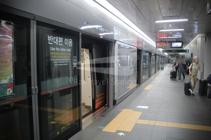 AREX Express Train Incheon International Airport Terminal 1 Seoul Station 083