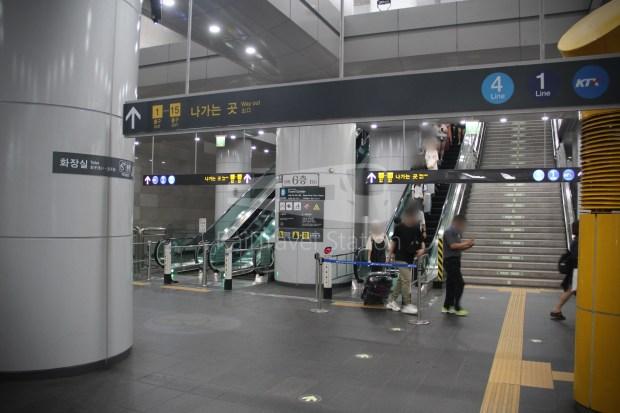AREX Express Train Incheon International Airport Terminal 1 Seoul Station 085