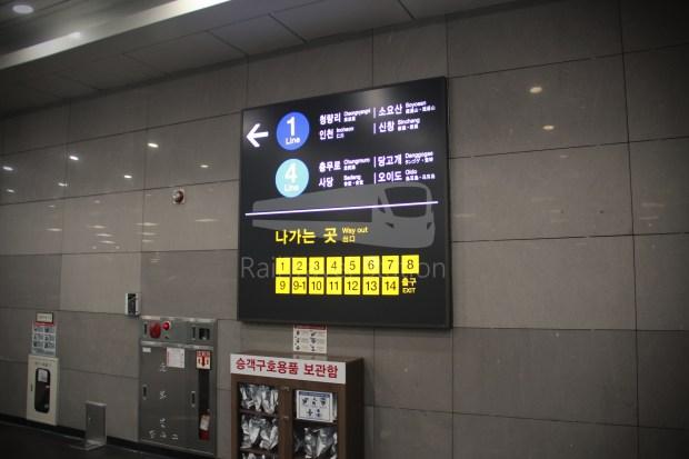 AREX Express Train Incheon International Airport Terminal 1 Seoul Station 088