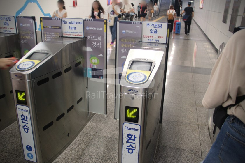 AREX Express Train Incheon International Airport Terminal 1 Seoul Station 092