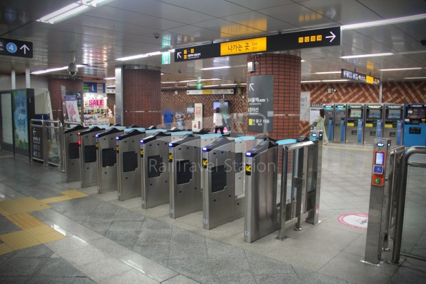 AREX Express Train Incheon International Airport Terminal 1 Seoul Station 094