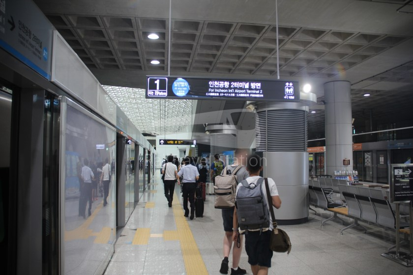 AREX Express Train Seoul Station Incheon International Airport Terminal 1 047