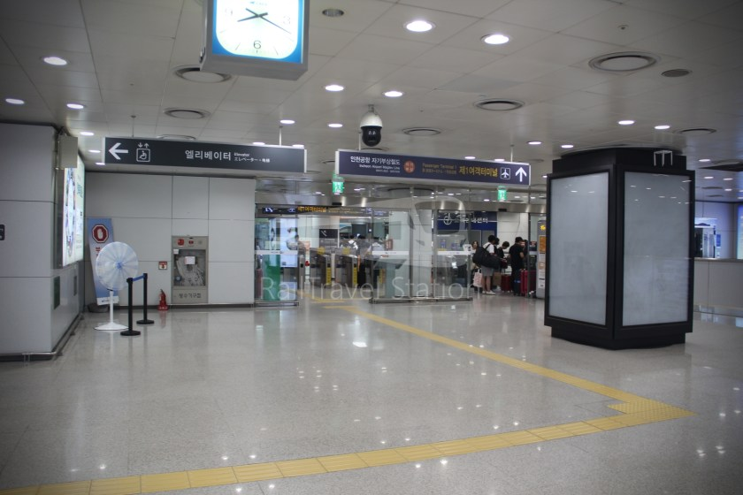 AREX Express Train Seoul Station Incheon International Airport Terminal 1 051