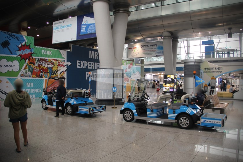 AREX Express Train Seoul Station Incheon International Airport Terminal 1 055