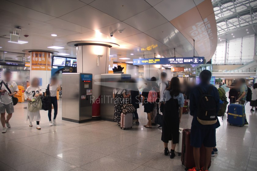AREX Express Train Seoul Station Incheon International Airport Terminal 1 056