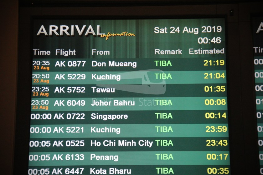 AirAsia AK6049 JHB KUL for BWN 051