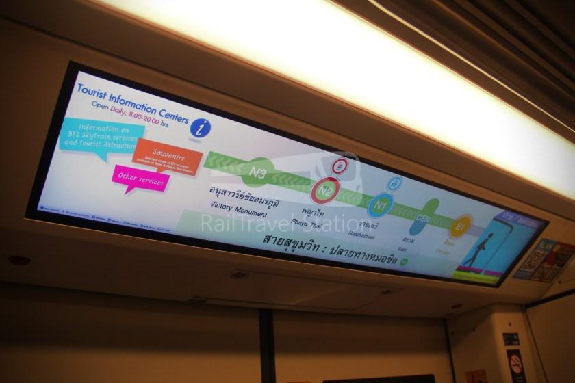 BTS Sukhumvit Line Chit Lom Phaya Thai Siemens Inspiro 004
