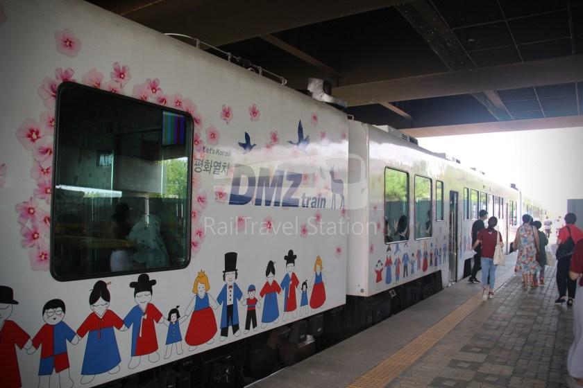 DMZ Train 4887 Seoul Dorasan 083