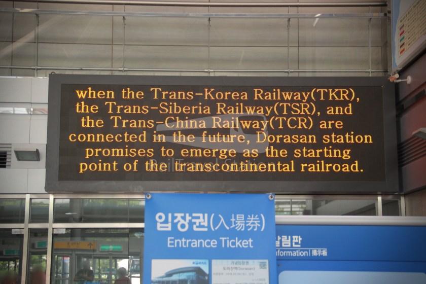 DMZ Train 4888 Dorasan Yongsan 010