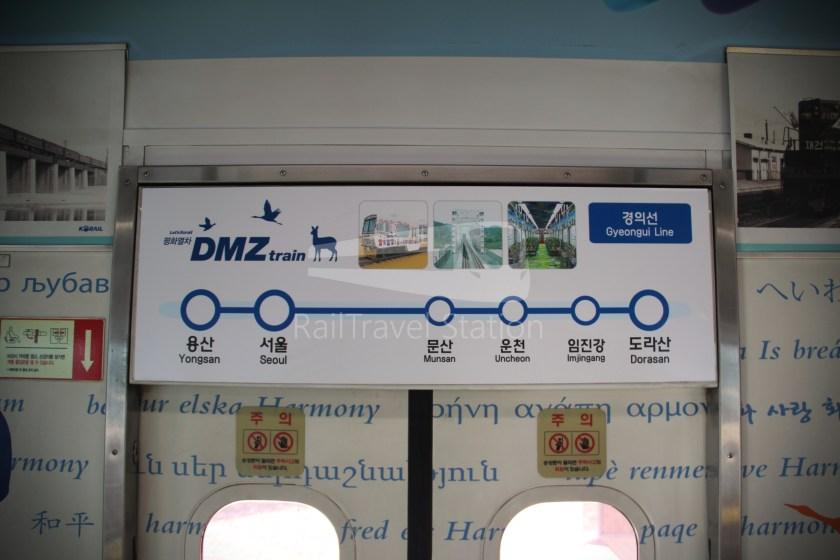 DMZ Train 4888 Dorasan Yongsan 110