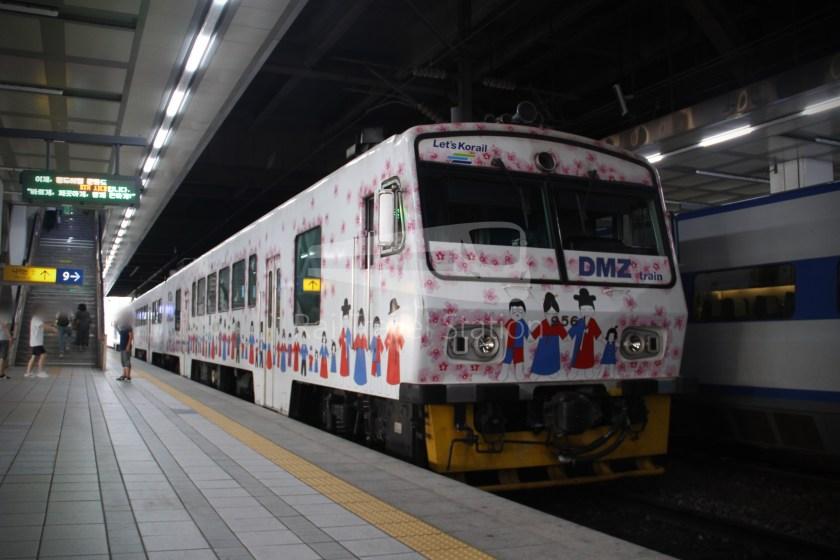 DMZ Train 4888 Dorasan Yongsan 172
