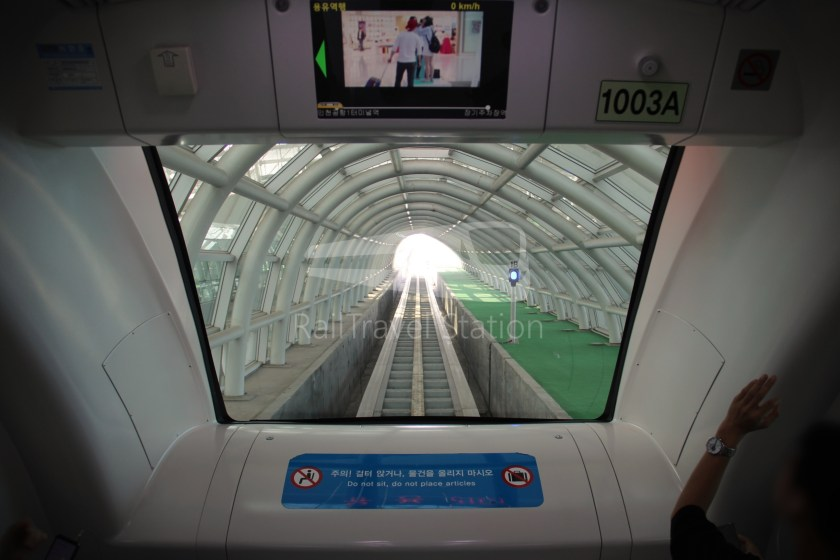 Incheon Airport Maglev Incheon International Airport Terminal 1 Yongyu 008
