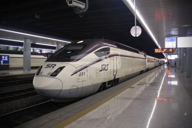 KTX 158 Busan Seoul 021