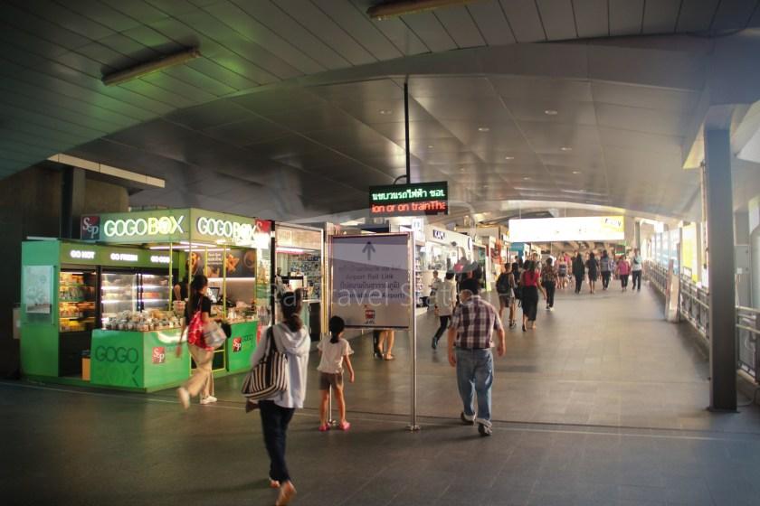 SARL City Line Phaya Thai Suvarnabhumi Airport 001