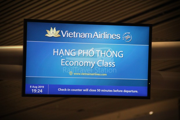Vietnam Airlines VN656 SIN SGN for ICN 004