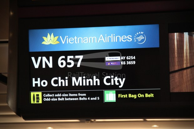 Vietnam Airlines VN657 SGN SIN from ICN 062