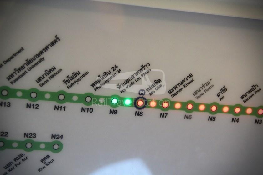 BTS Sukhumvit Line Ha Yaek Lat Phrao Extension 008