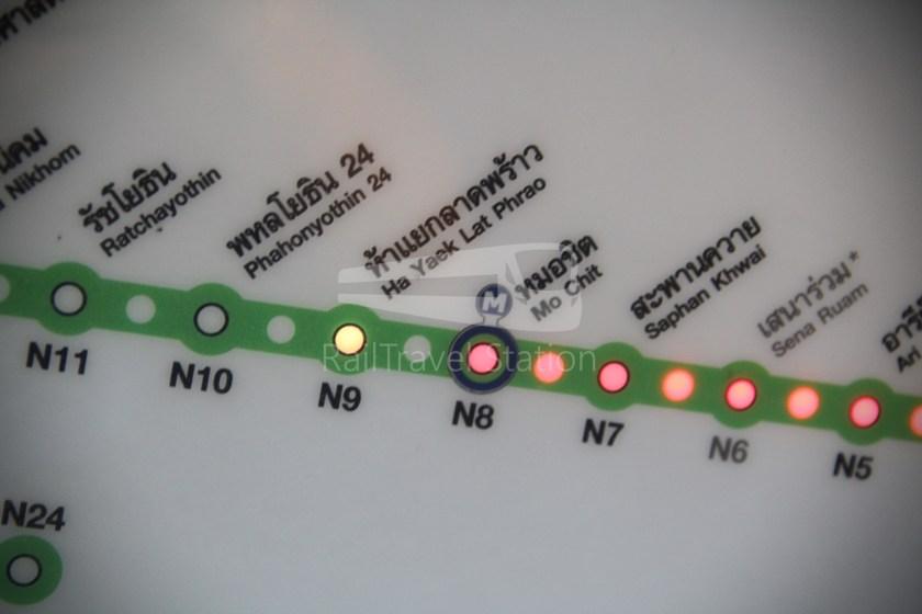 BTS Sukhumvit Line Ha Yaek Lat Phrao Extension 015
