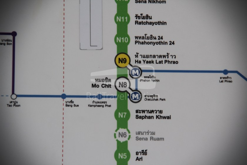 BTS Sukhumvit Line Ha Yaek Lat Phrao Extension 050