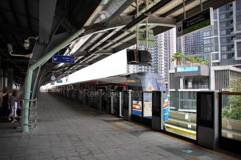 BTS Sukhumvit Line Ha Yaek Lat Phrao Extension 080